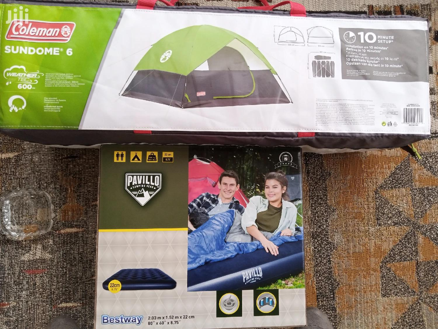 Archive: Sale!! Coleman Sundome 6 Camping Tent.