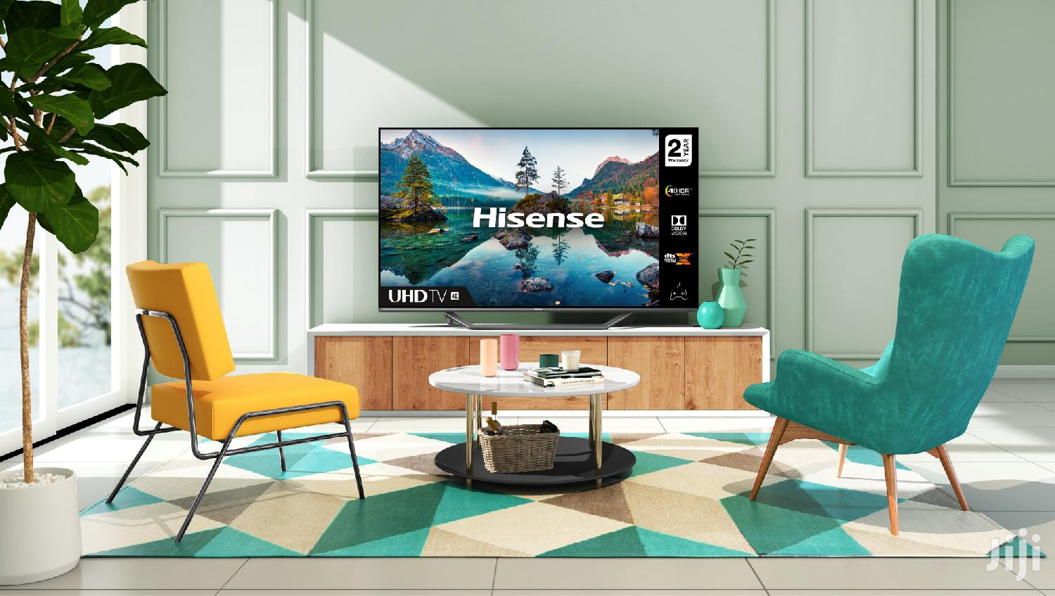 Hisense 50inch 4K Hdr LED Android Tv(50A71F)