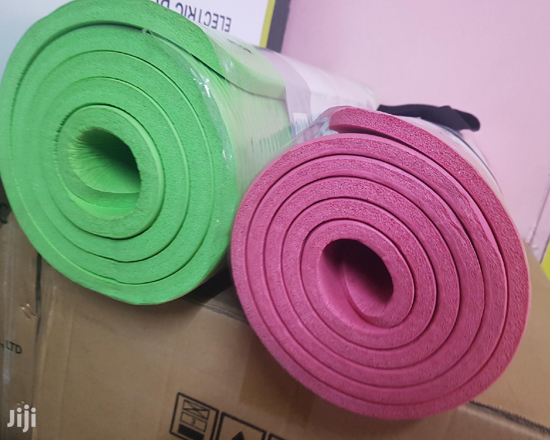 Thick Yoga Mats   Sports Equipment for sale in Nairobi Central, Nairobi, Kenya