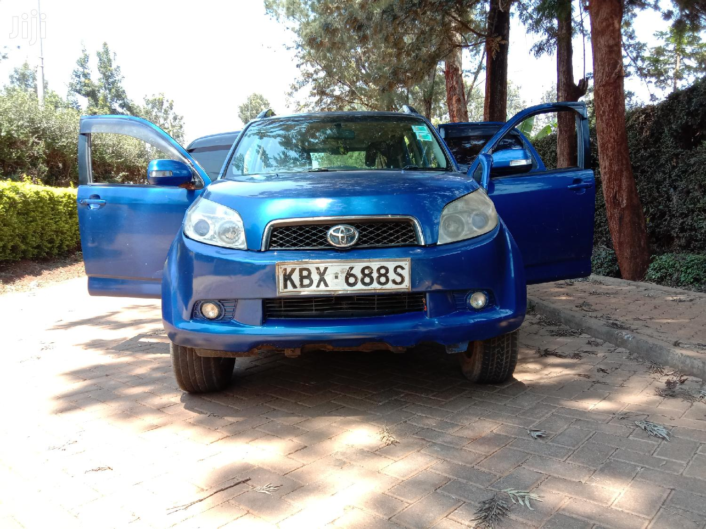 Archive: Toyota Rush 2008 Blue