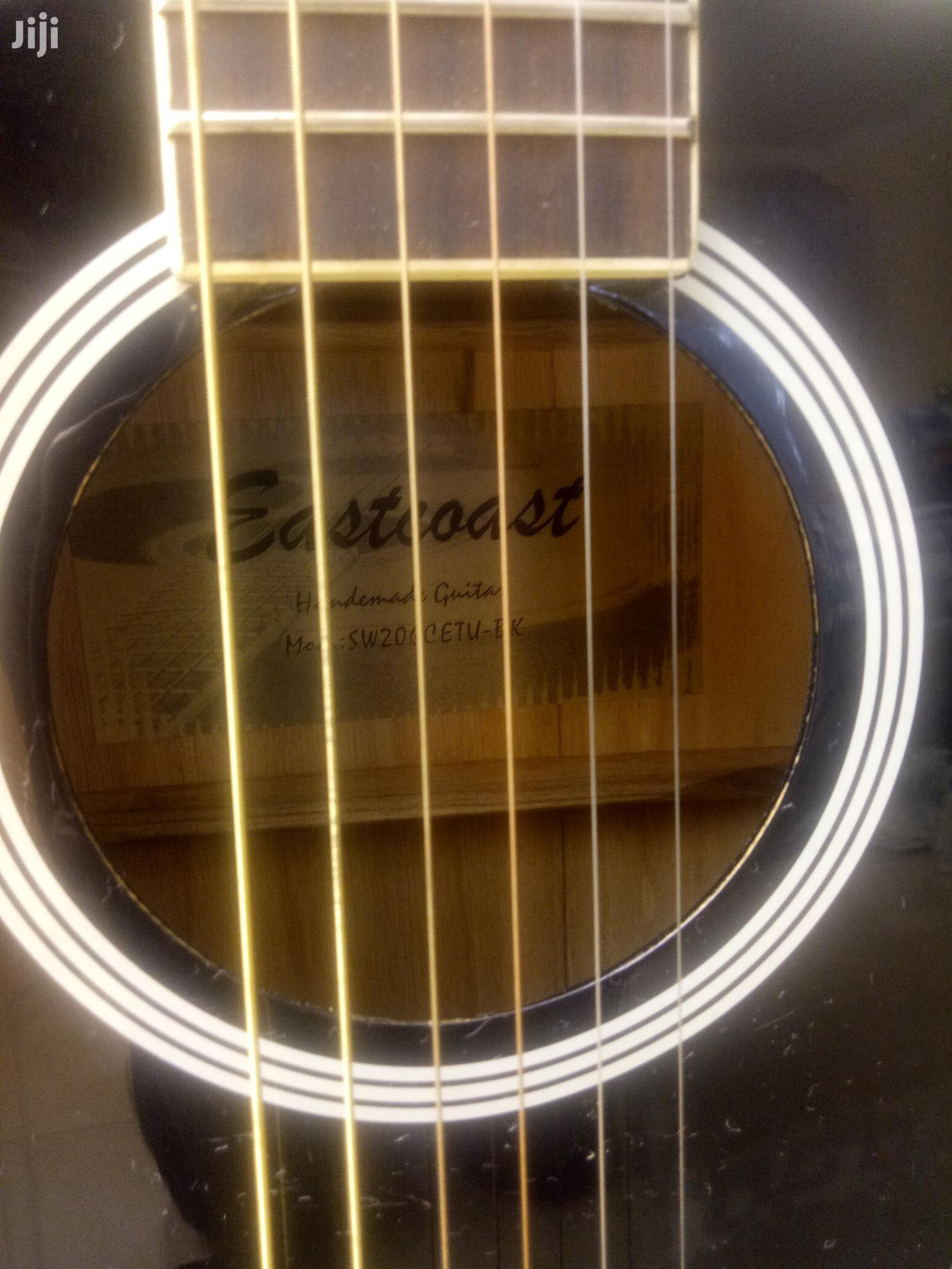 Eastcoast Semi-Acoustic Guitar With Inbuilt Tuner Black Ra | Musical Instruments & Gear for sale in Nairobi Central, Nairobi, Kenya