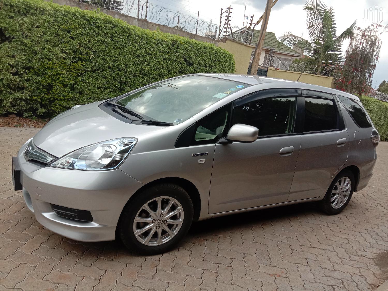 Honda Shuttle 2014 Silver