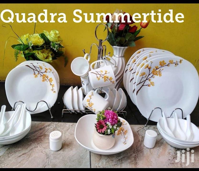 45pcs Quadra Dinner Set
