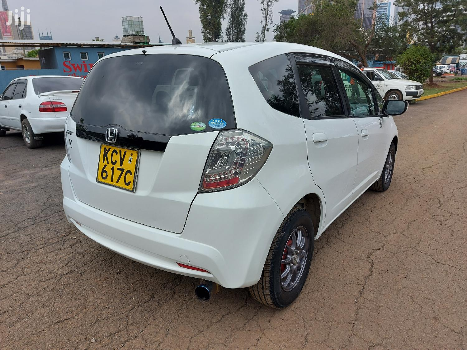 Honda Fit 2012 White | Cars for sale in Kilimani, Nairobi, Kenya