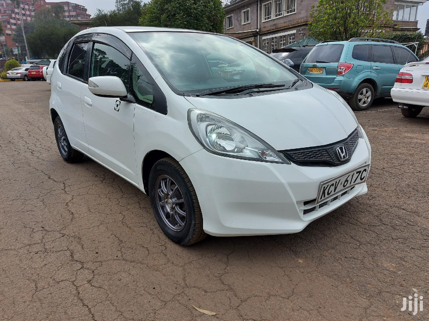 Honda Fit 2012 White