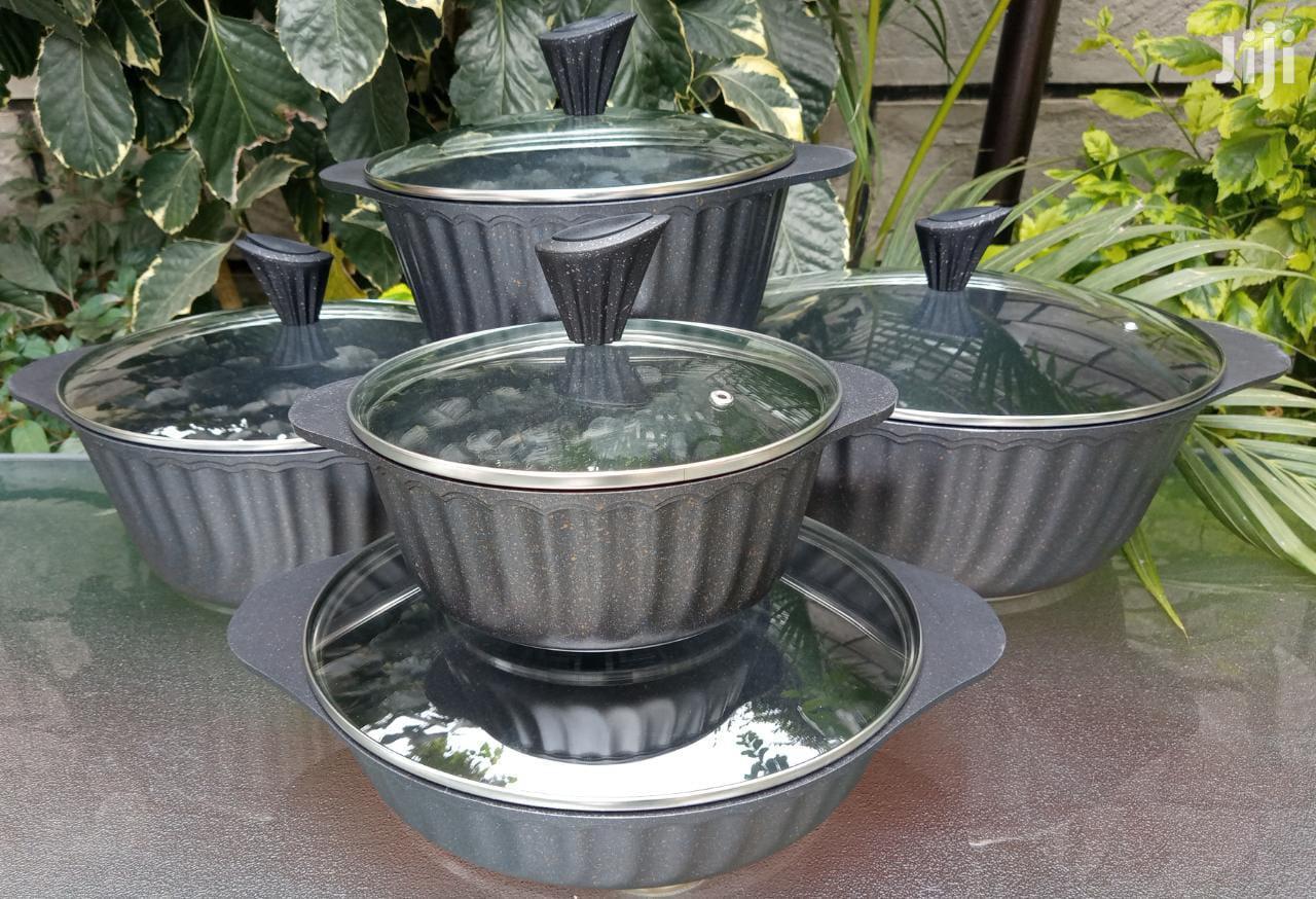 10pc Granite Cooking Pots German Brand