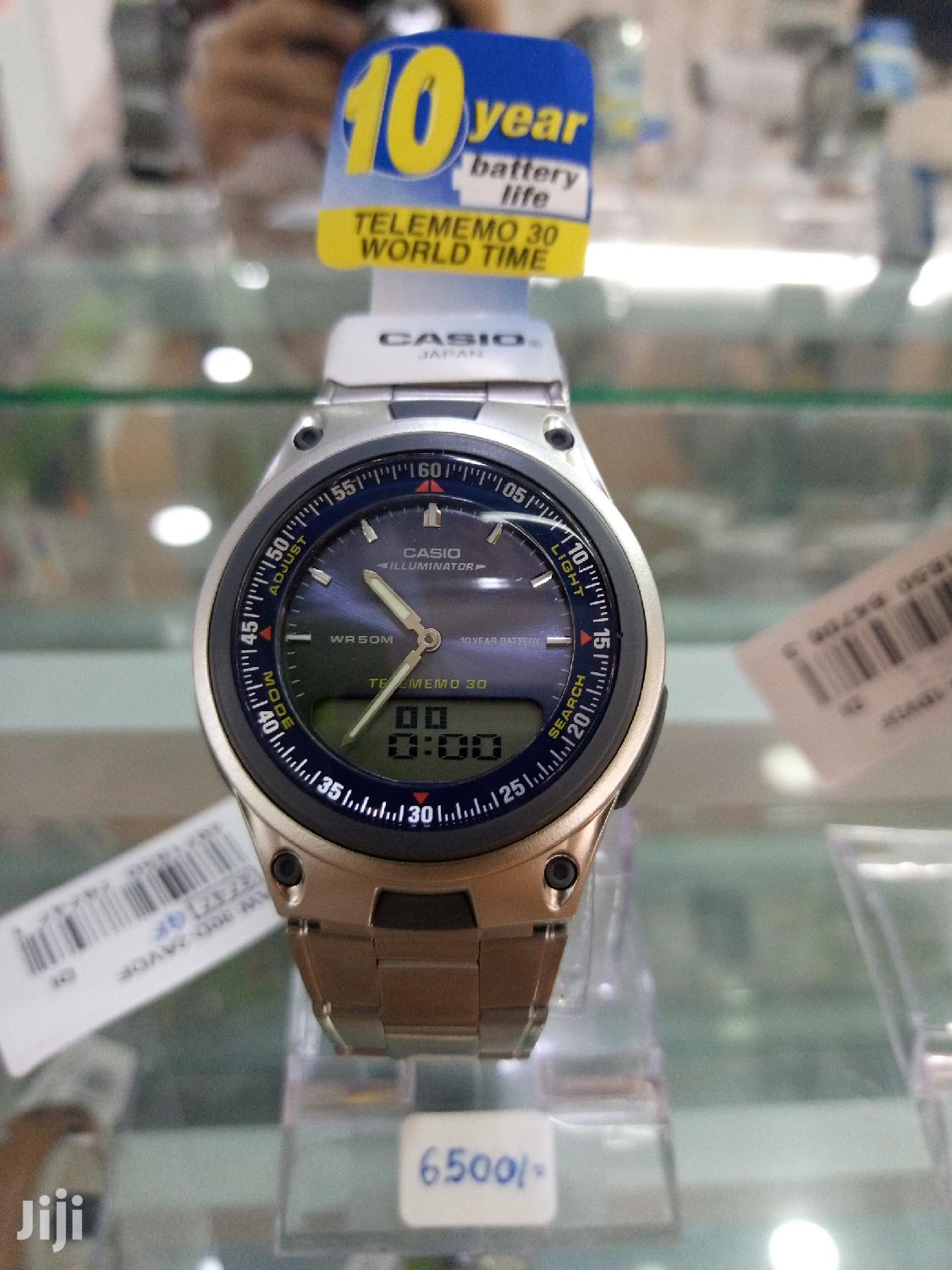 CASIO Aw80d Watch