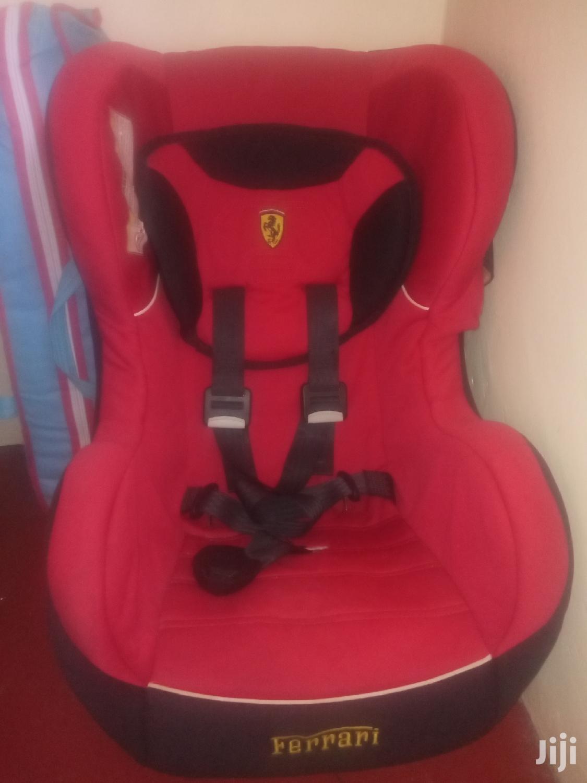 Archive: Ferrari Red Branded Car Seat