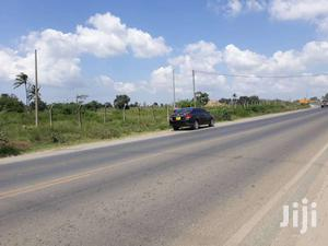 Miritini 2 and Half Acre Plot Touching Mombasa Nairobi Road for Sale