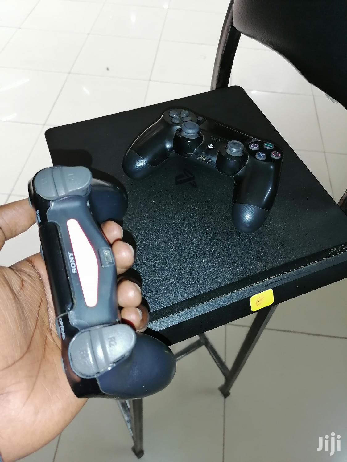 Ps4 Slim With 2 Pads Fifa 20 Gta5 | Video Game Consoles for sale in Nakuru East, Nakuru, Kenya