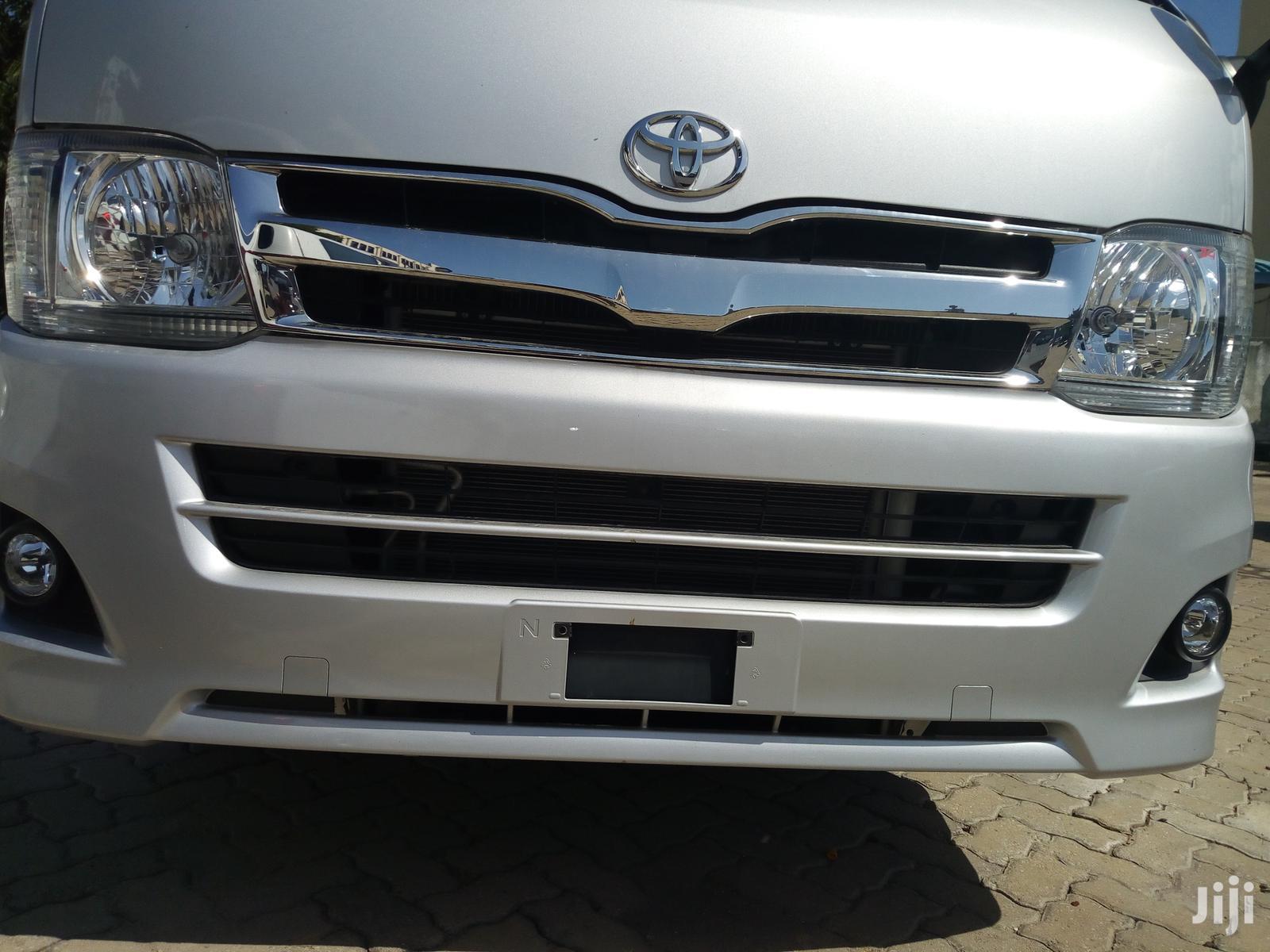 Toyota Hiace 2012 Silver | Buses & Microbuses for sale in Mvita, Mombasa, Kenya