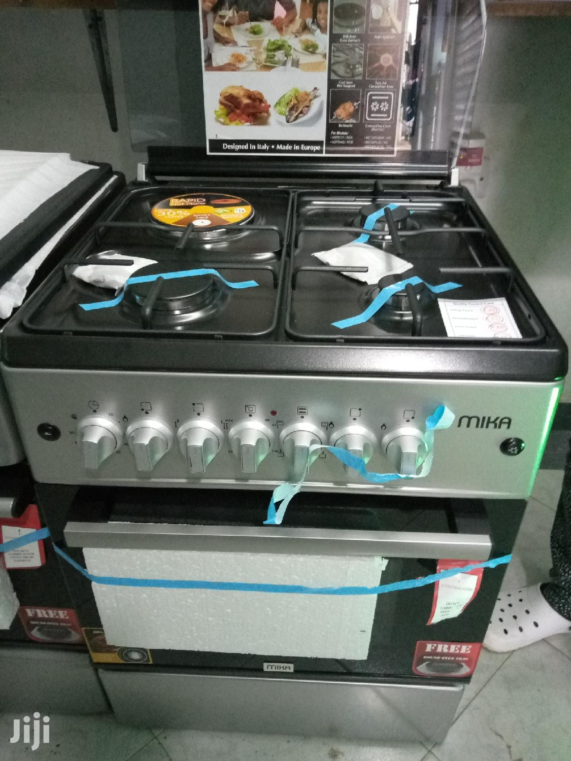 Mika Standing Cookers 58 Cm X 58 Cm, 3G + 1 E | Kitchen Appliances for sale in Kisauni, Mombasa, Kenya