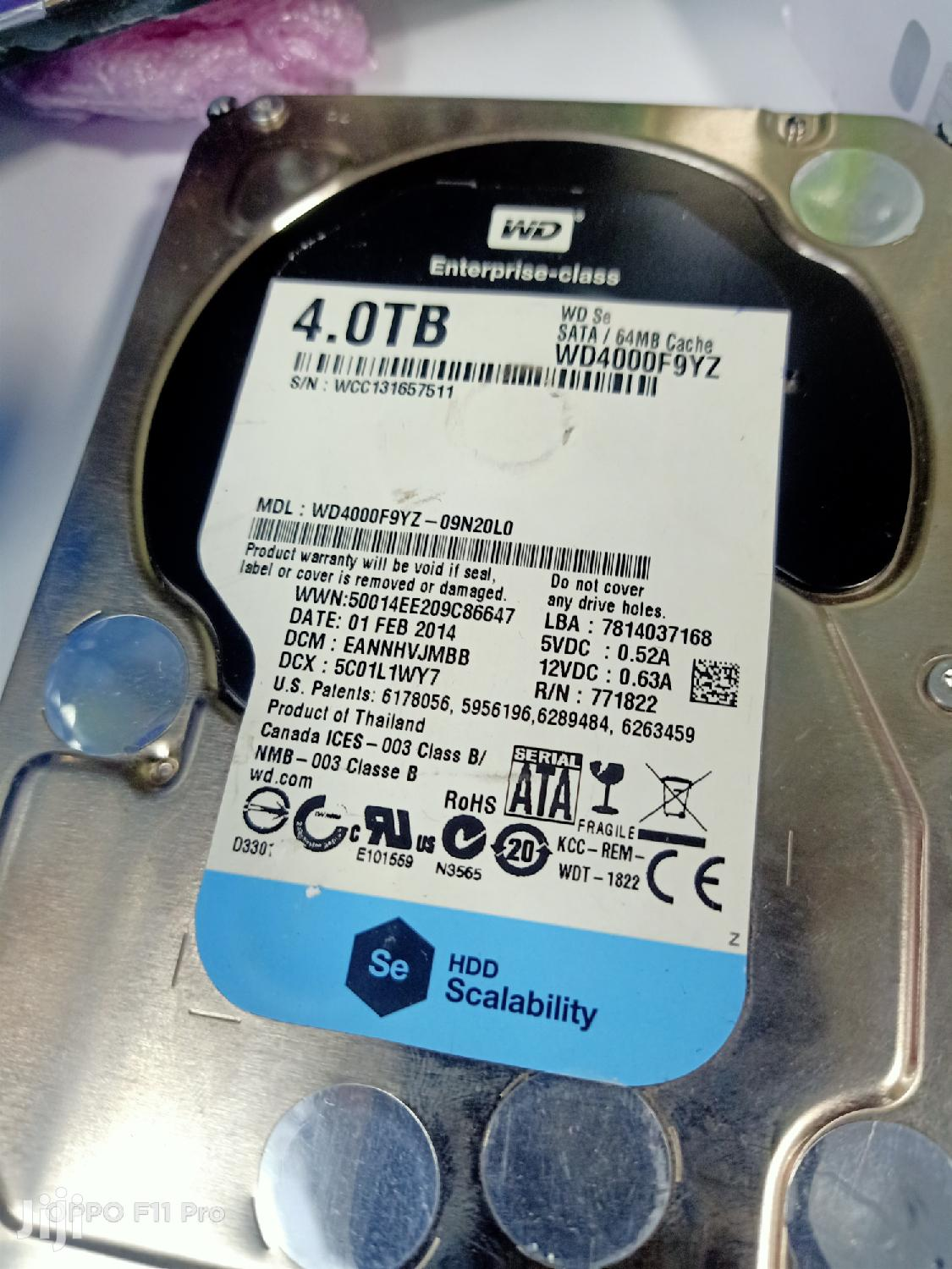 4tb Hard Drive Sata Available