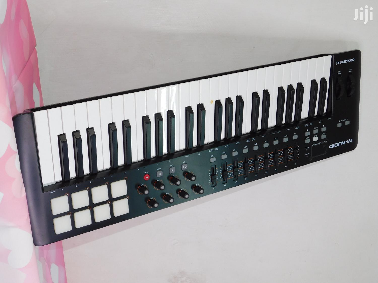 M-audio Midi Oxygen 49 Keyboard Drum Pad Etc Mido Keyboard | Musical Instruments & Gear for sale in Nairobi Central, Nairobi, Kenya