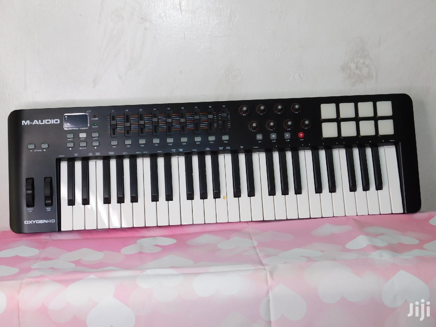 M-audio Midi Oxygen 49 Keyboard Drum Pad Etc Mido Keyboard