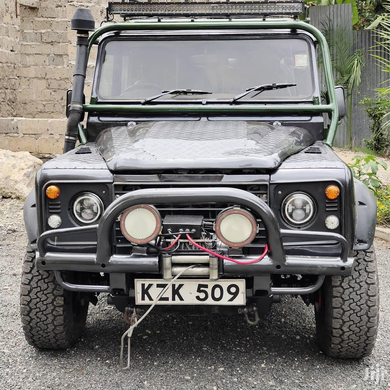 Land Rover Defender 1988 Black