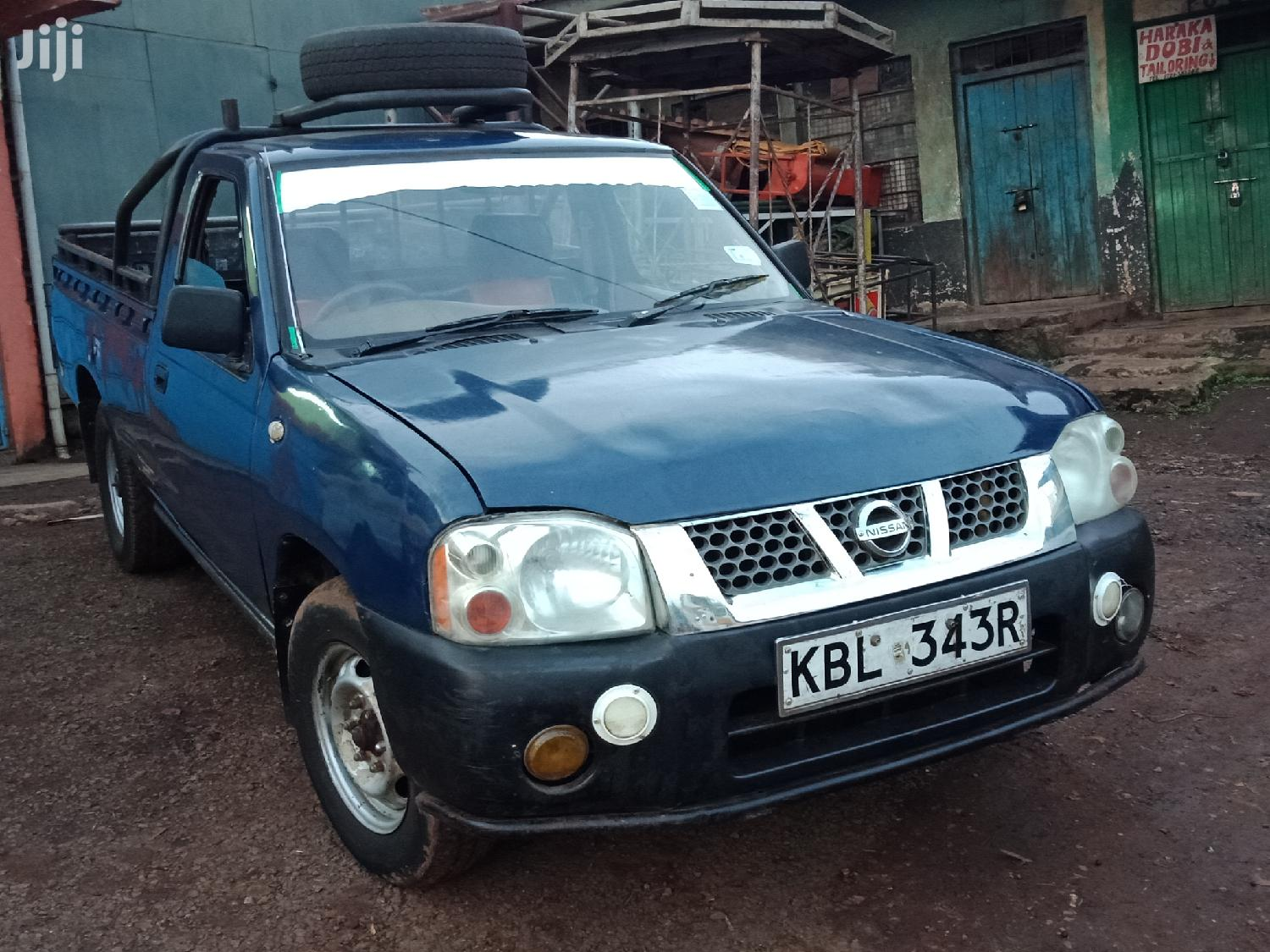 Archive: Nissan Hardbody 2010 Blue