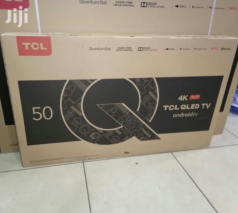 New TCL Tv 50 Inch Smart Q715 Qled 4k Android Frameless Bt