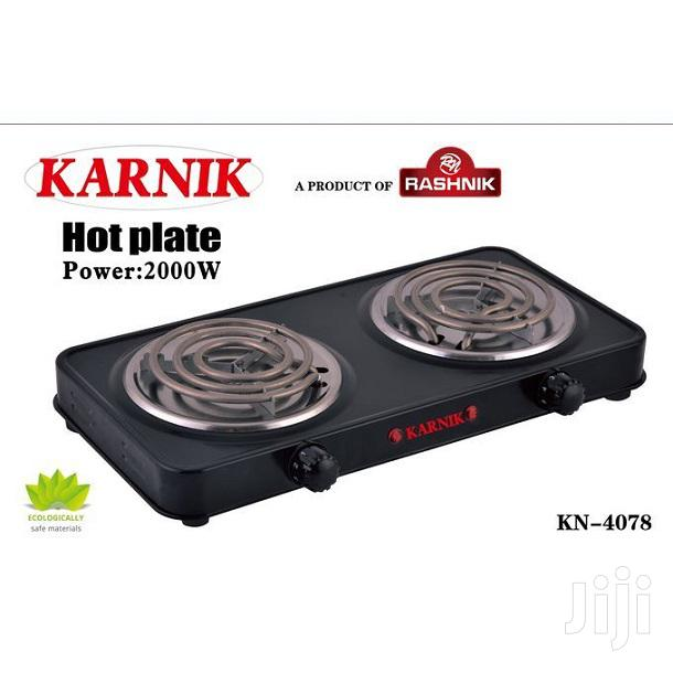 Karnik Modern Double Spiral Hotplate - Electric Cooker/Table