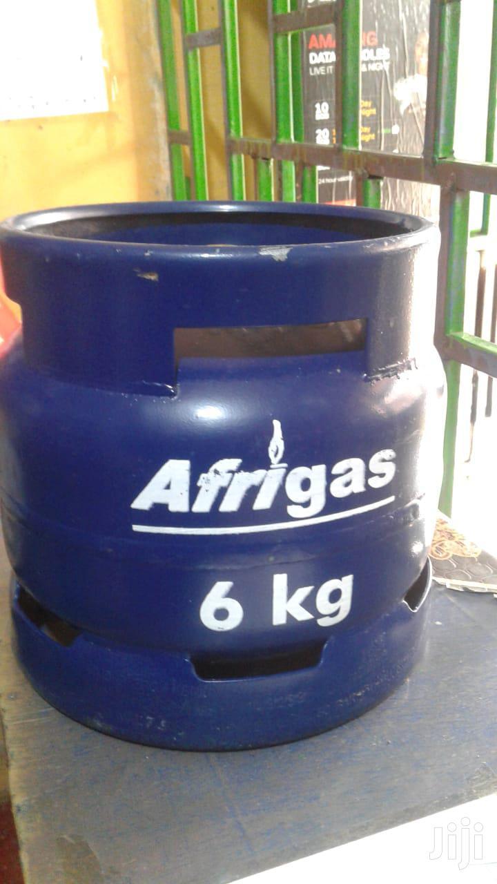 Afrigas 6kg (Gas + Gas Cylinder)