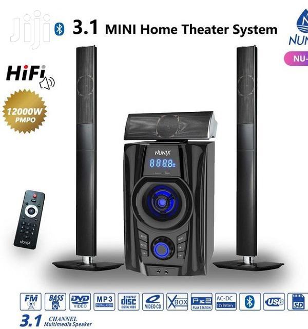Nunix Bluetooth Speaker Sub-Woofer System 3.1 CH 12000W