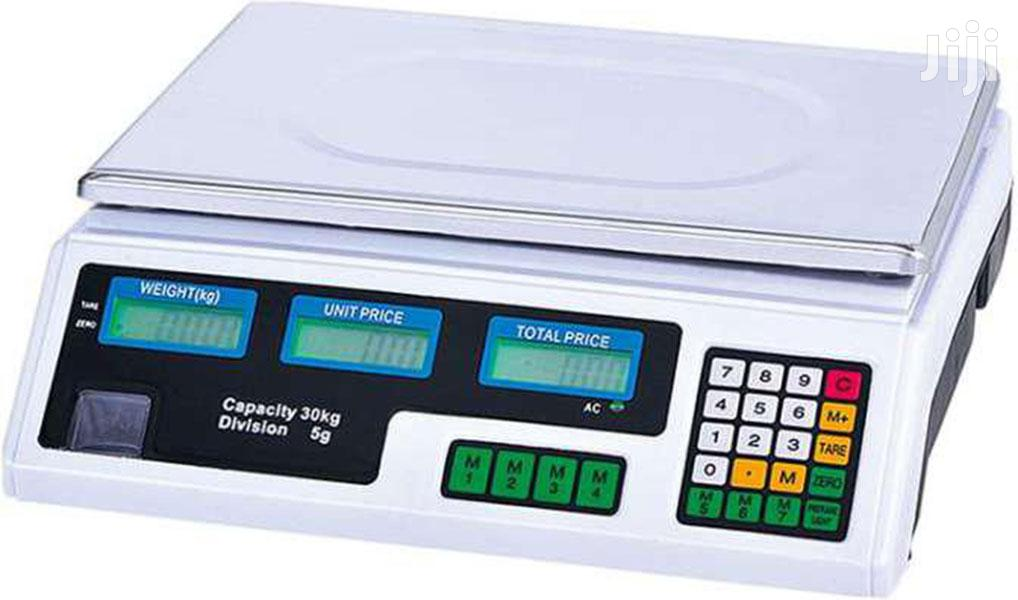 Archive: Digital ACS 30kg-40kg Electronic Price Computing Weighing Sc
