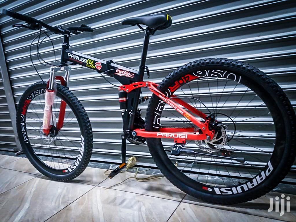 29''er Paruisi Foldable With Dual Suspension