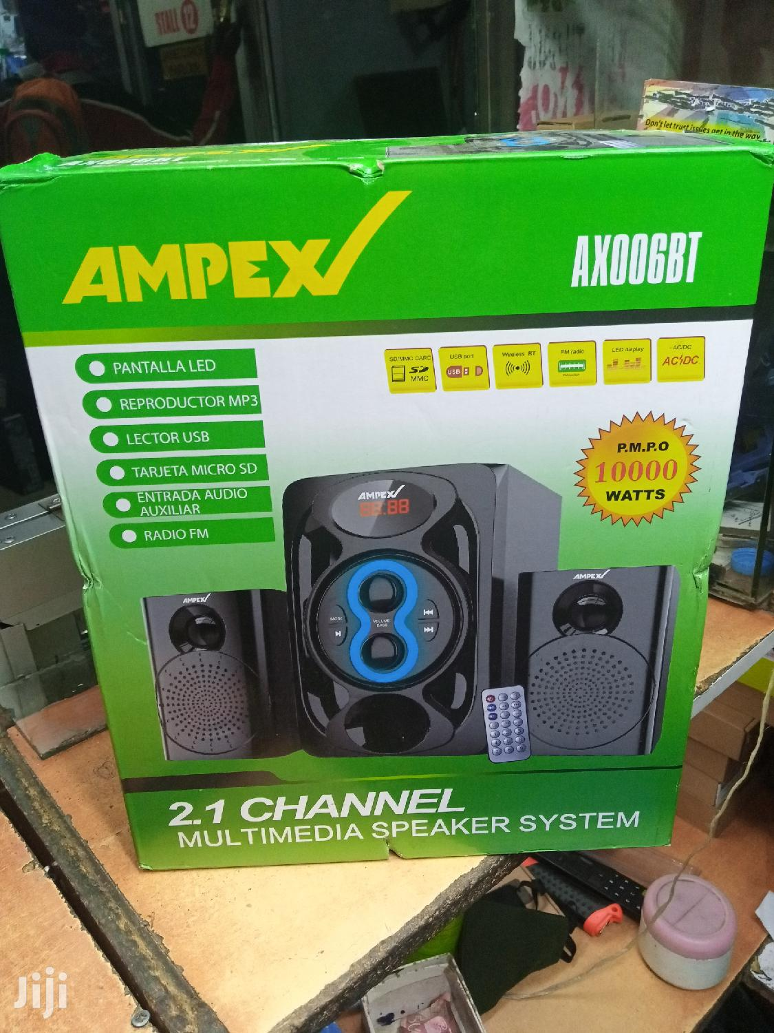 Ampex Sub Woofer With Bluetooth 10000 Wat