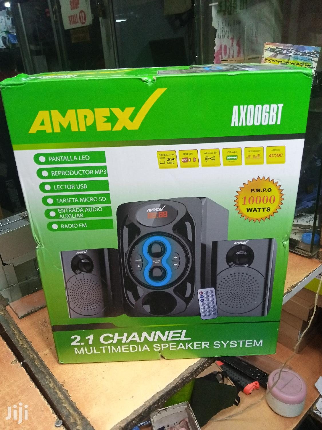Ampex Sub Woofer With Bluetooth 10000 Wat   Audio & Music Equipment for sale in Nairobi Central, Nairobi, Kenya
