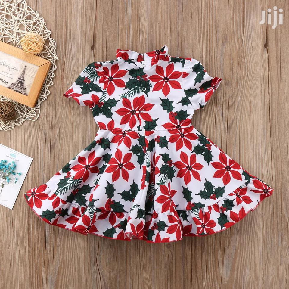 Red Flowers Dress | Children's Clothing for sale in Mvita, Mombasa, Kenya