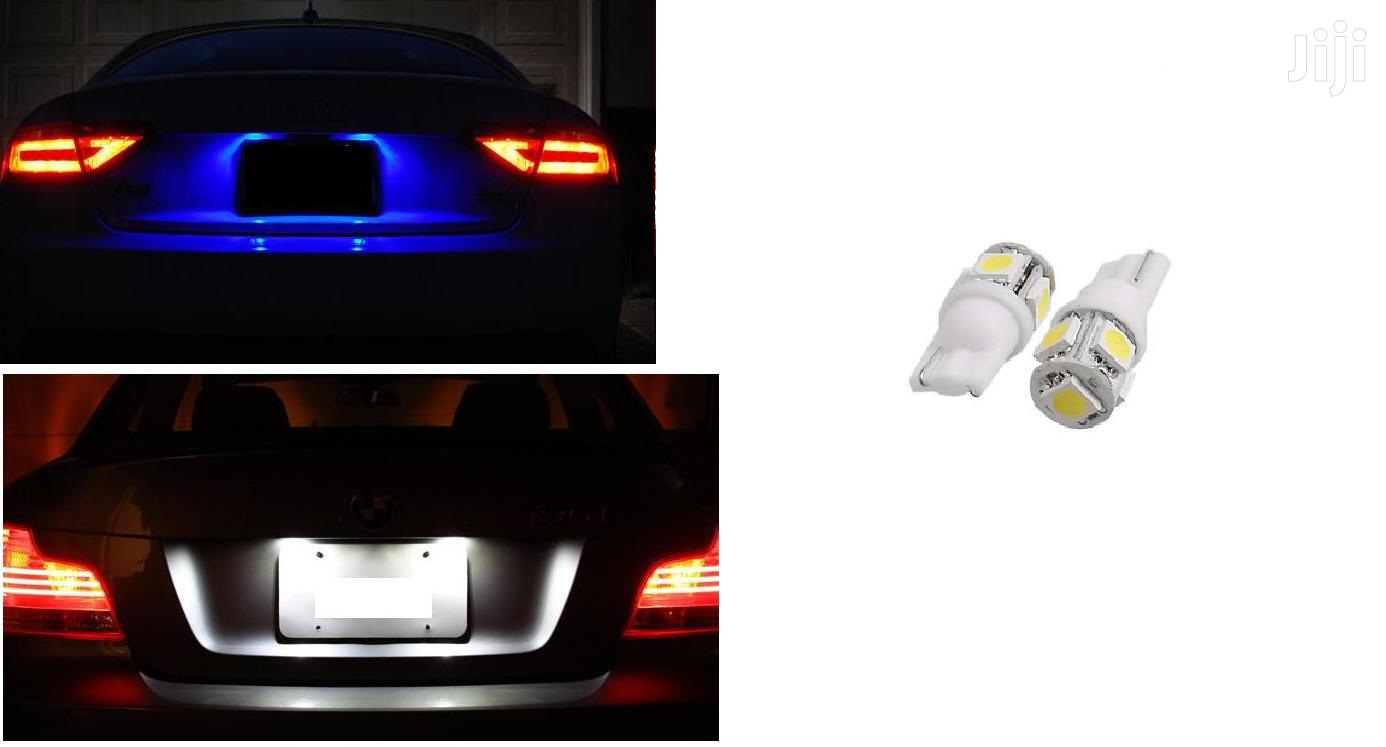 Number Plate LED Bulbs: For Toyota/Subaru/Nissan/Mazda/Honda/Landrover