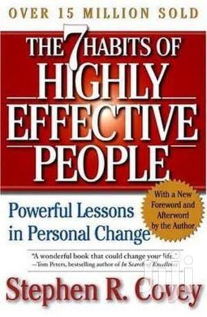 The 7 Habits of Highly Effective People by Stephen Covey.   Books & Games for sale in Nairobi, Nairobi Central