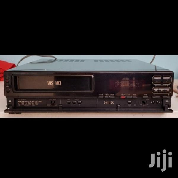 Philips VHS Video Cassette Player and Recorder
