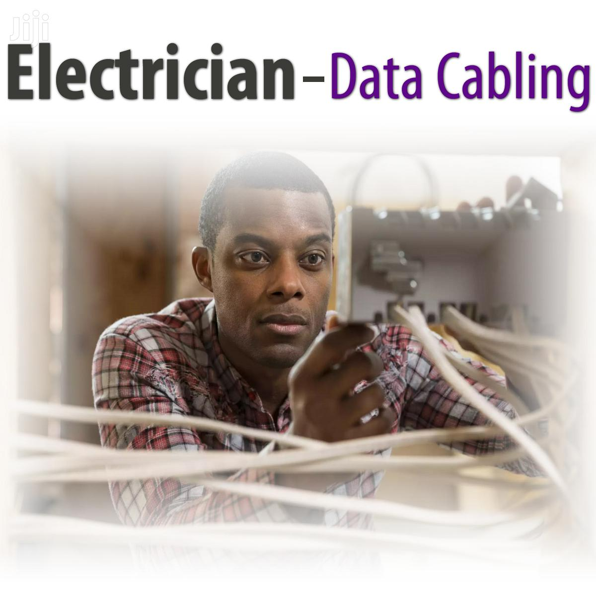 Archive: Electrician With Data Cabling Experience & Basic IT Tech
