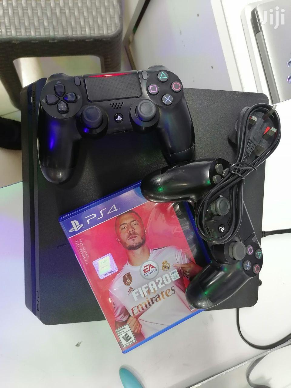 Ps4 Console With 2 Pad Controllers With Fifa 20