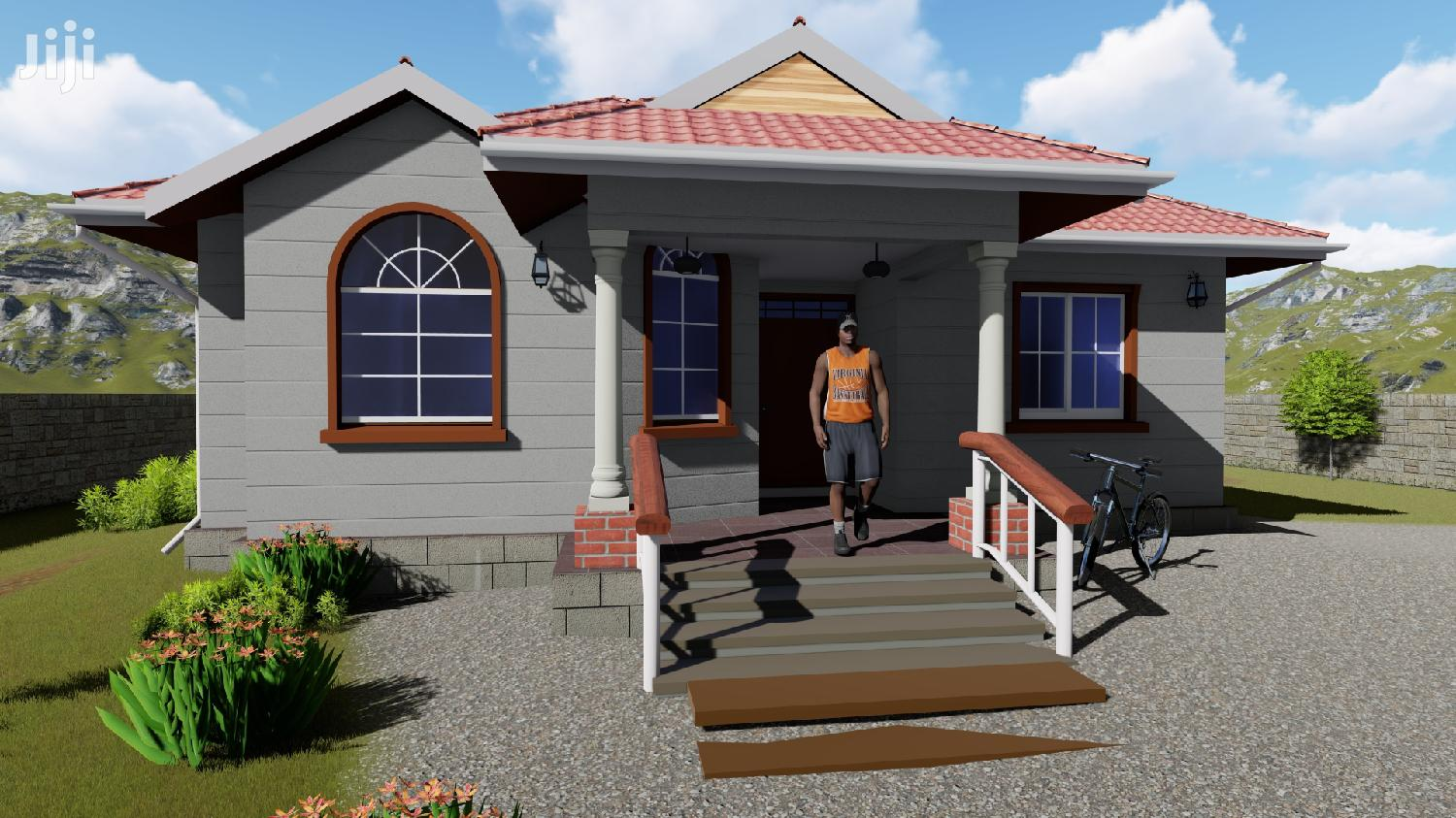 2 Bedrooms House Plan