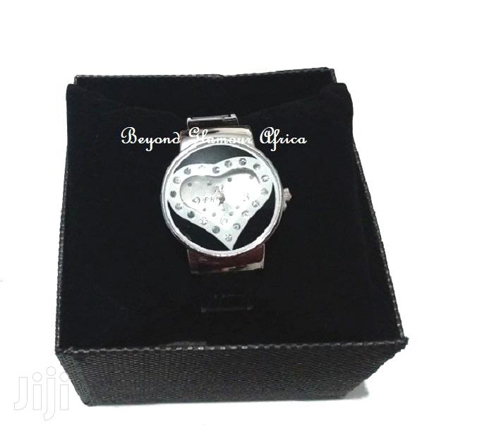 Fashion Silver Plated Star Ladies Bracelet Watch | Watches for sale in Nairobi Central, Nairobi, Kenya