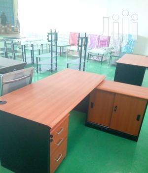 Moderate Office Desk With Side Cabinets | Furniture for sale in Nairobi, Nairobi Central