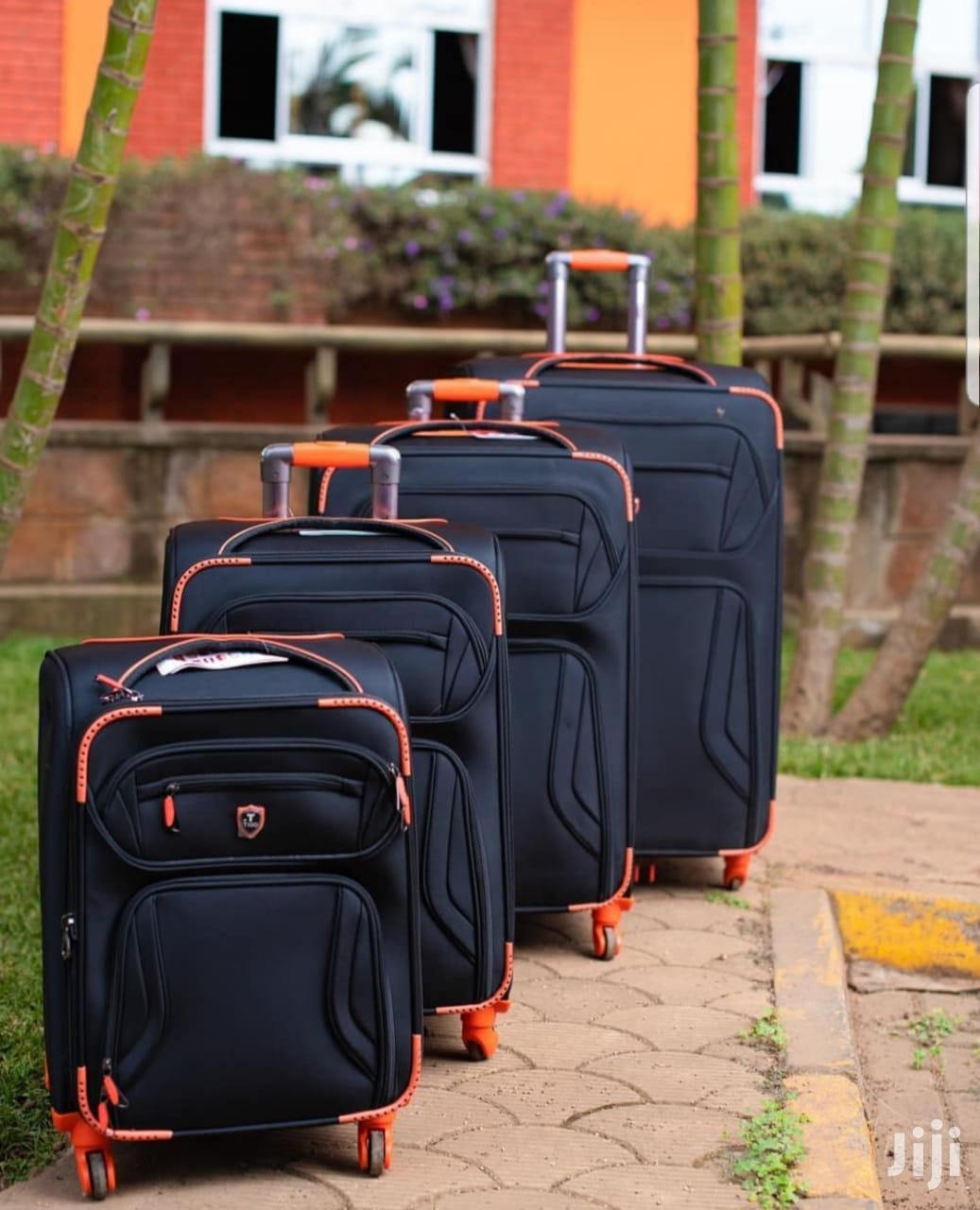 4 Pc Travel Suitcase