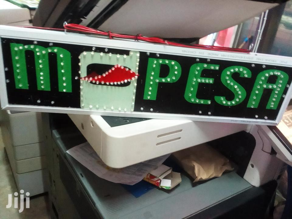 Mpesa Signboards
