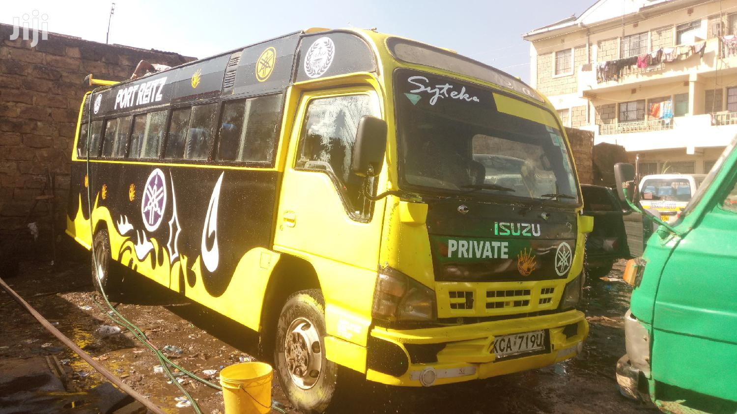 Isuzu NQR 33 Seater 2014 Yellow | Buses & Microbuses for sale in Dandora, Nairobi, Kenya