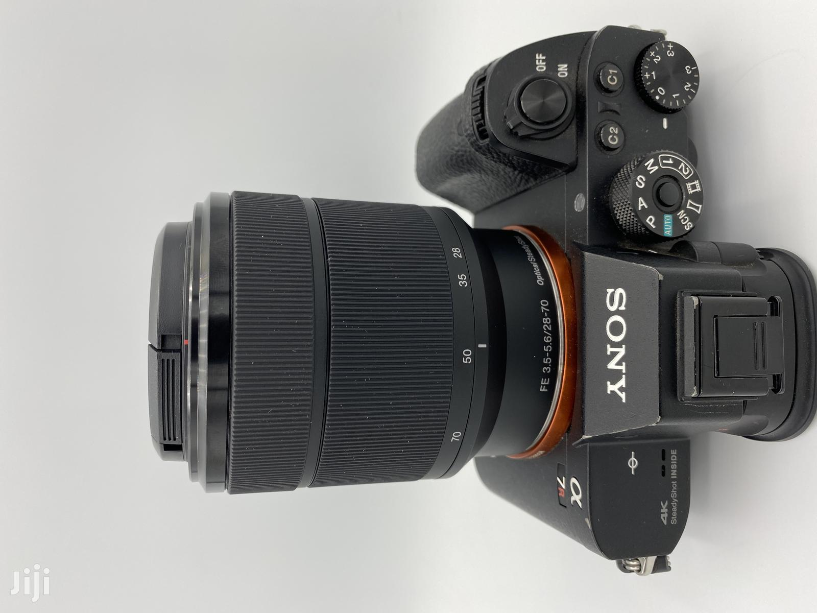 Sony A7RII With 28-70mm Mirrorless Digital Camera EX-UK | Photo & Video Cameras for sale in Nairobi Central, Nairobi, Kenya