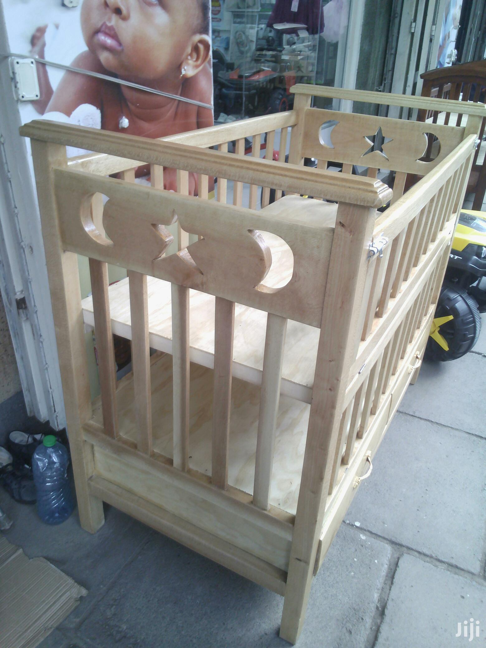Wooden Baby Cot | Children's Furniture for sale in Nairobi Central, Nairobi, Kenya