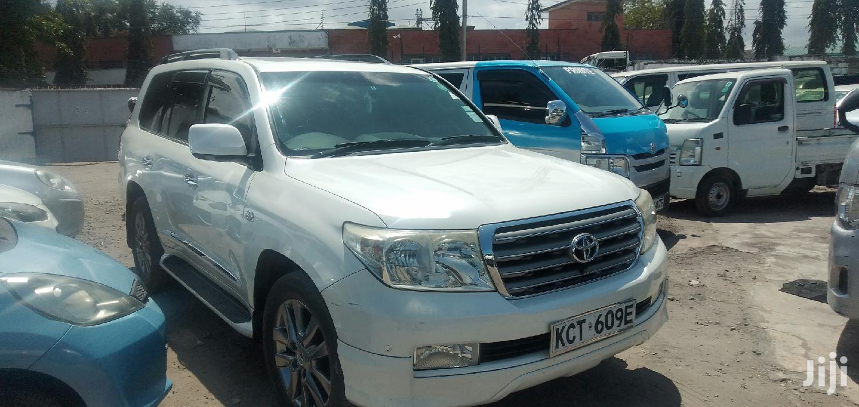 Toyota Land Cruiser 2012 White   Cars for sale in Mvita, Mombasa, Kenya