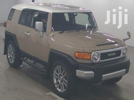 New Toyota FJ Cruiser 2012 4x4 Automatic Beige | Cars for sale in Parklands/Highridge, Nairobi, Kenya