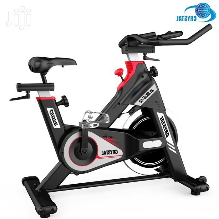 Cardio Gym Commercial Exercise Spinning Bikes Crystal