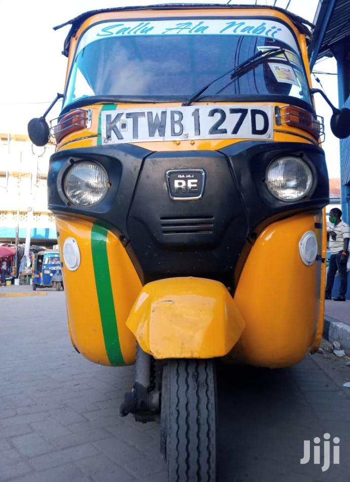 Archive: Bajaj RE 2016 Yellow