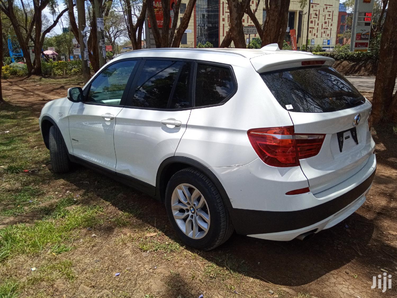 Archive: BMW X3 2013 White