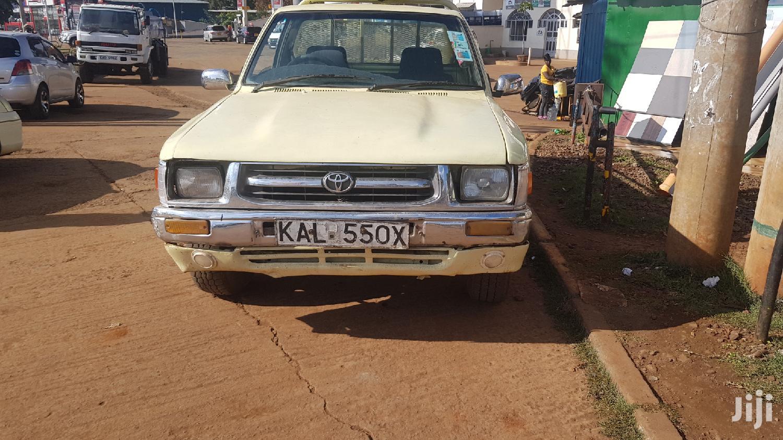 Toyota Hilux 2001 Beige | Cars for sale in Nairobi Central, Nairobi, Kenya