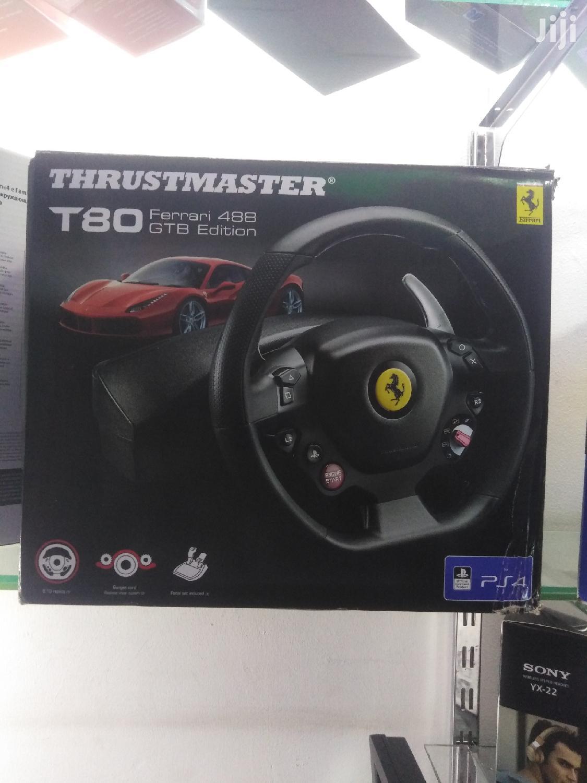 THRUSTMASTER T80 Ferari 4BB Gtb Racing Wheel